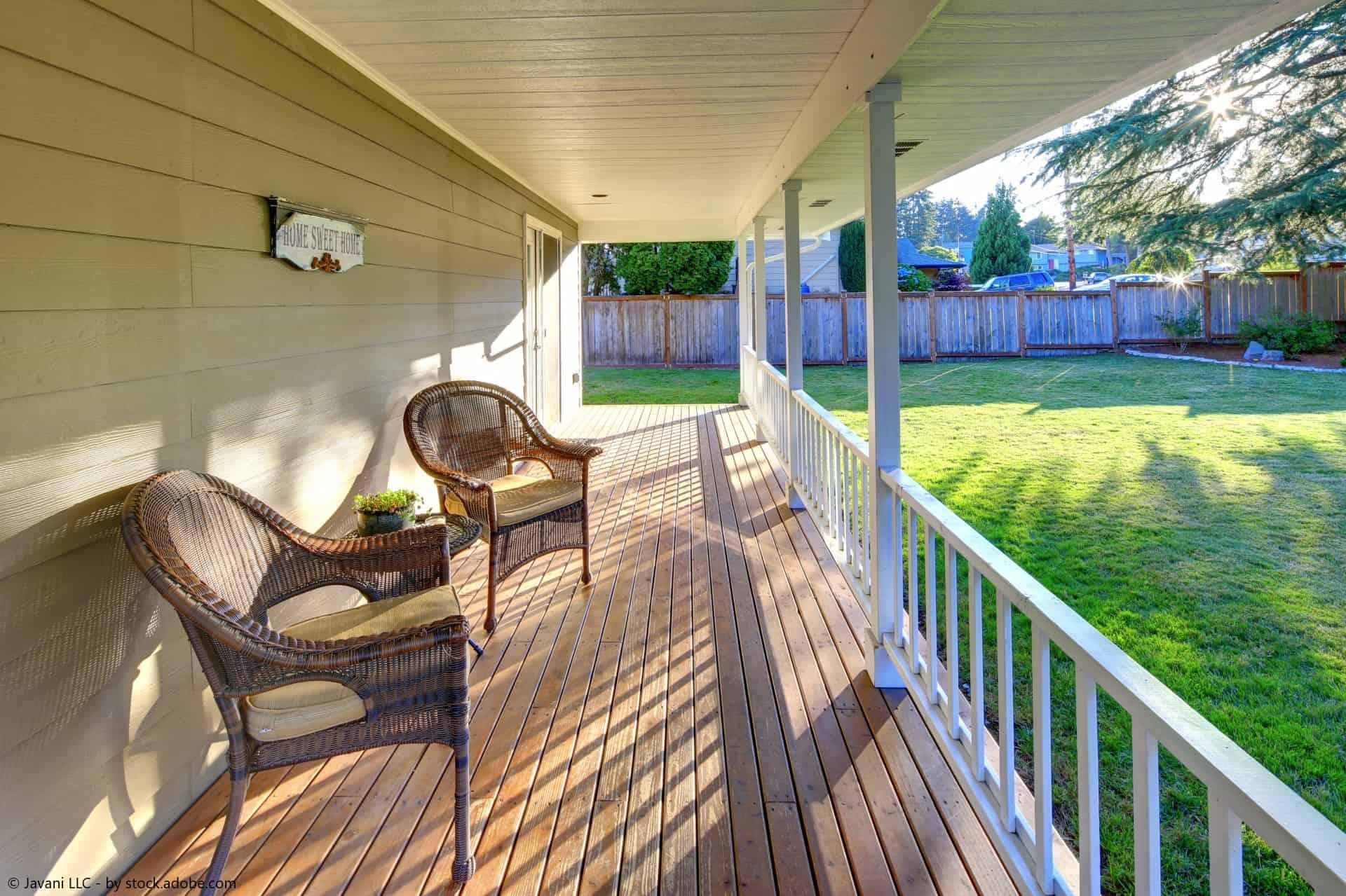veranda bauen 2