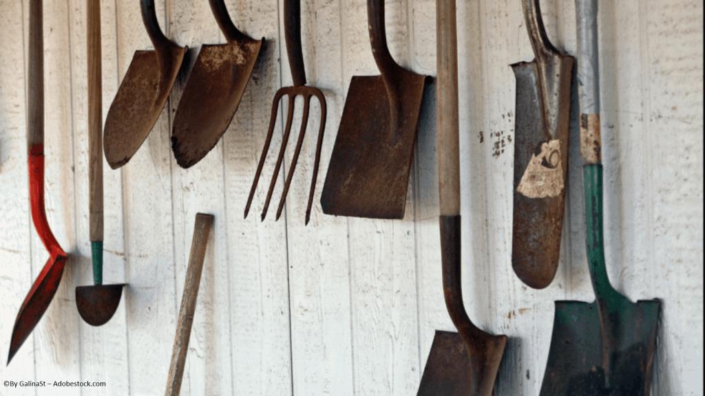 Verrostetes Werkzeug reinigen