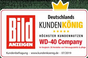 WD-40® ist Deutschlands Kundenkönig