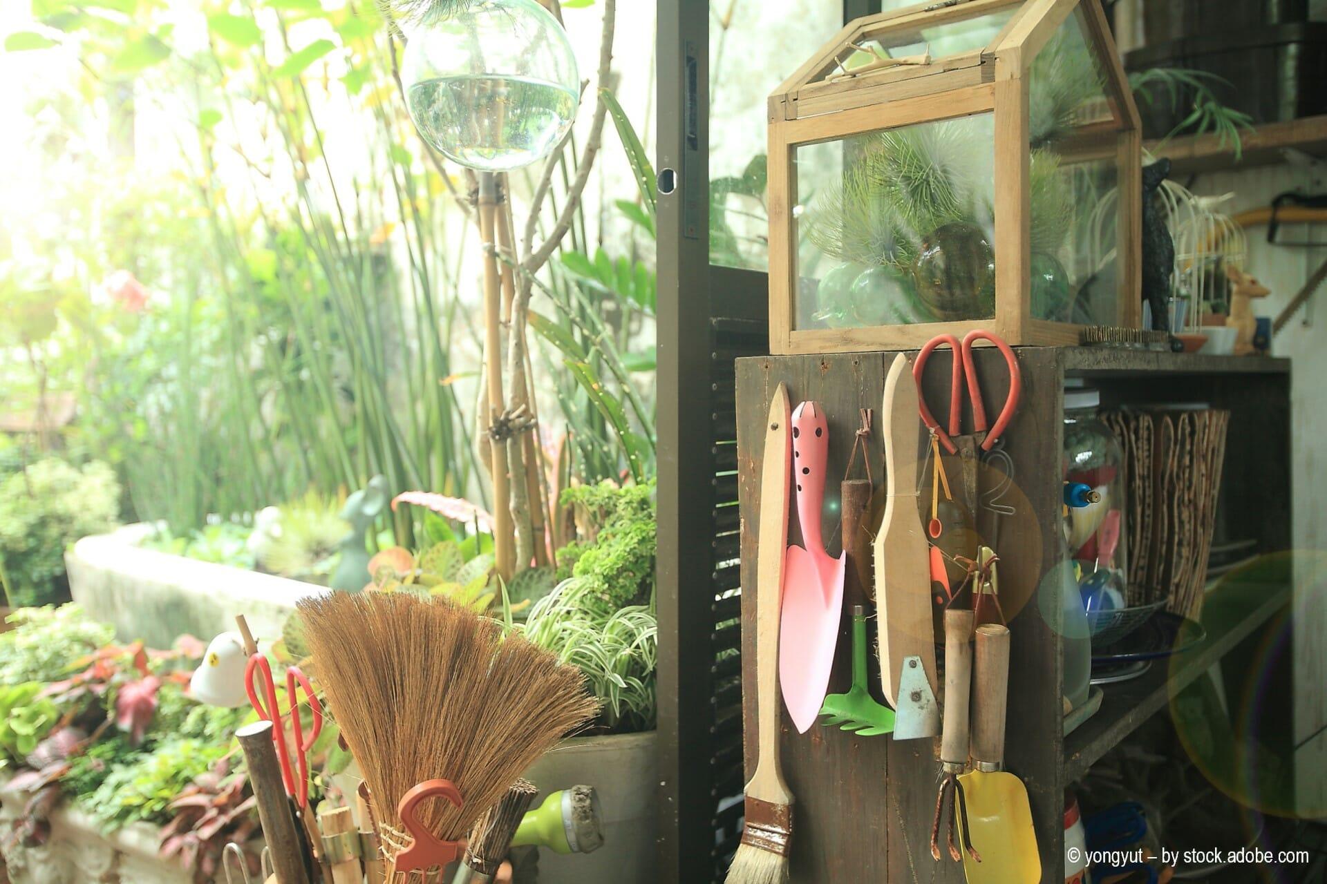 Tipps und Tricks für die Aufbewahrung von Gartenwerkzeugen