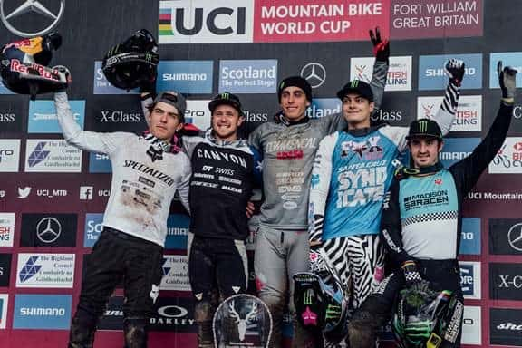 UCI DH Worldcup - Fort William - Runde 2