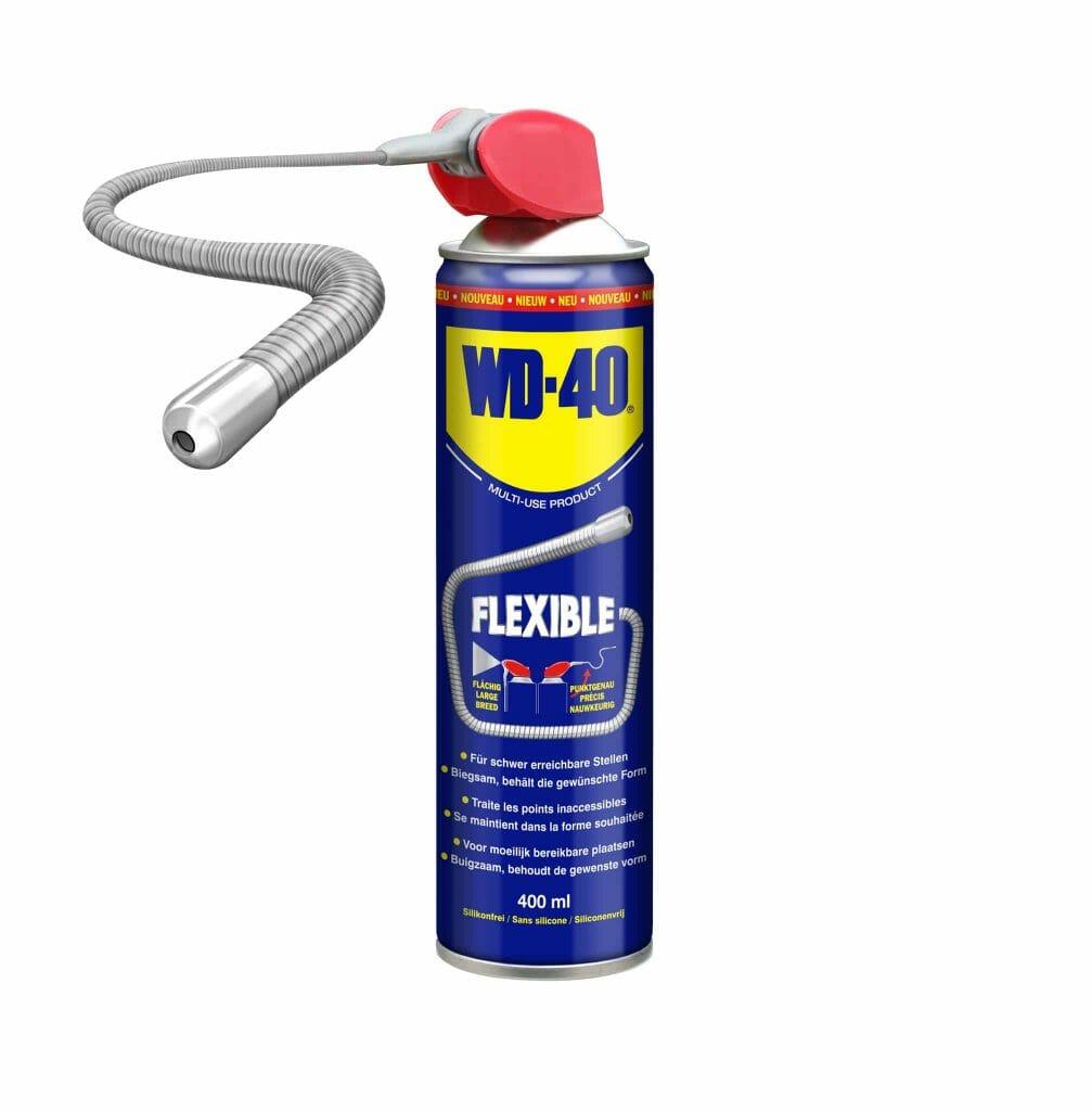 WD-40® FLEXIBLE: Erreicht Unerreichbares!