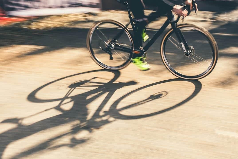 Cyclocross-rad pflegenmit WD-40
