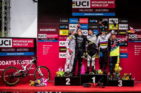 Danny Hart - UCI Downhill WC - Val Nord Andorra