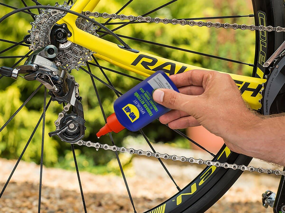 wd 40 specialist fahrrad kettenöl bei trockenheit fahrradkette schmieren